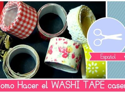 Manualidad Crafting: como hacer WASHI TAPE casero (cinta adhesiva decorada) - Idea de Navidad