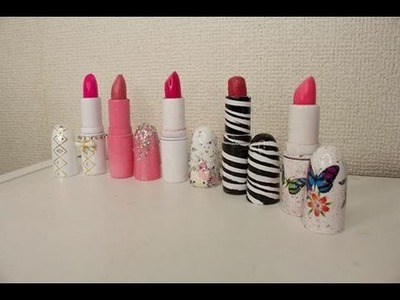 Manualidades: Decora tus labiales - Juancarlos960