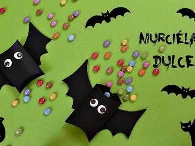 Manualidades para Halloween, Dulcero Murciélago