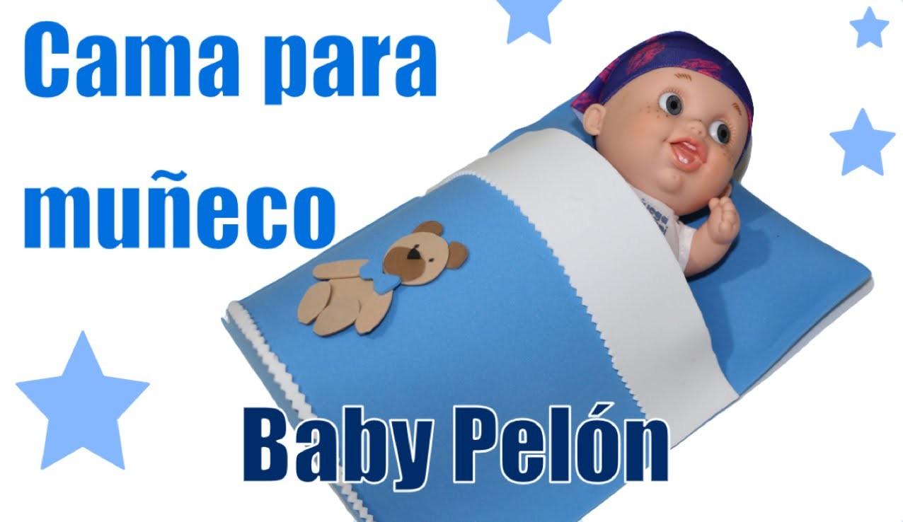 Manualidades para muñecas: cama  Baby Pelones