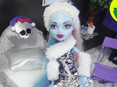 Manualidades para muñecas: Haz una cama inspirada por la muñeca Monster High Abbey