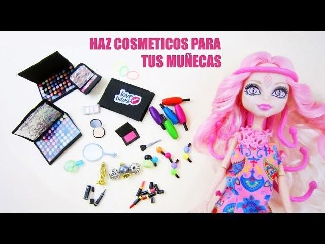 Manualidades para muñecas: Haz cosmeticos o maquillaje para tus muñecas
