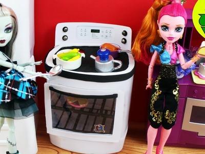Manualidades para muñecas: Haz una Estufa para muñecas - EP 741