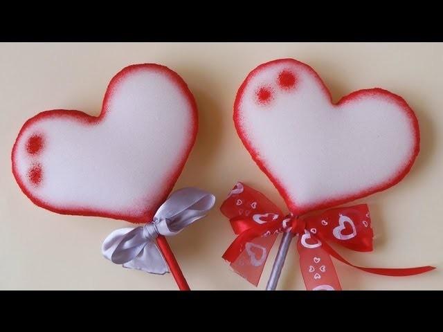 Manualidades para Regalar - Corazón de goma espuma - Manualidades Para Todos