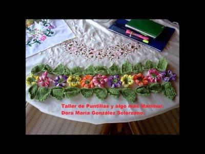 MARIMUR TALLER DE  PUNTILLAS 4  AÑOS  ANIVERSARIO SEPTIEMBRE  2013