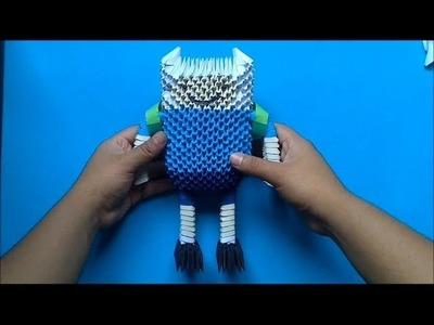 Origami 3D Finn (Hora de aventura)