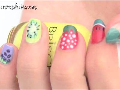 Pintado de uñas frutales