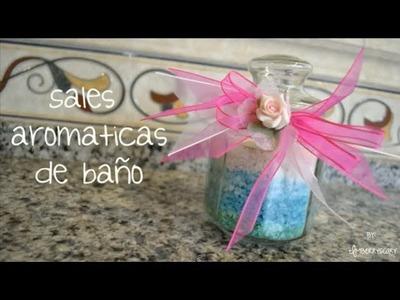 Sales aromáticas de baño! ❤ Detalle para cualquier ocasión ❤