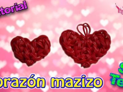 ♥ Tutorial: Corazón Macizo de gomitas (sin telar) ♥