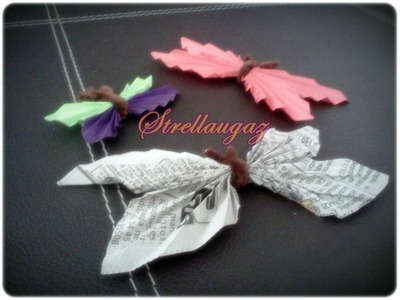 Tutorial: Mariposa de papel