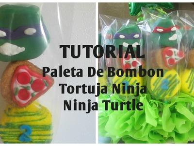 Tutorial Paletas De Bombon Tortugas Ninja.Ninja Turtles - Madelin's Cakes