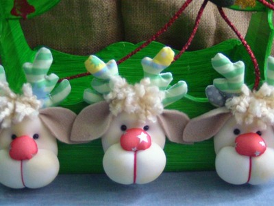 Christmas reindeer sutitle.reno navideño subtitulado. proyecto 68
