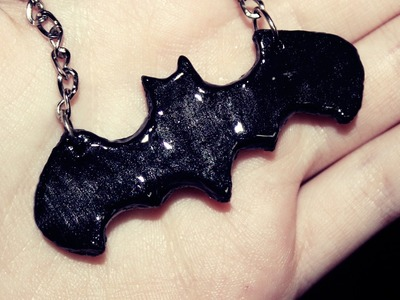 Colgante de Batman (Porcelana fría) - Batman neckl