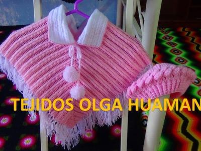 Como hacer los pompones para poncho tejido a crochet