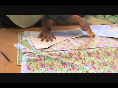 Como hacer Pañal para adulto reusable 1 parte