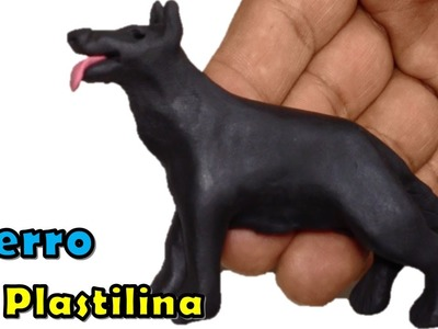 Como hacer un perro de plastilina. How to make a dog play dough