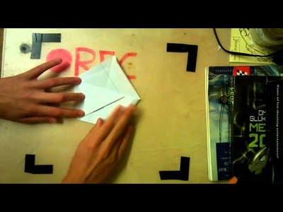 Cómo hacer una bolsa de papel. (Papiroflexia Nº 8) - Chindas12
