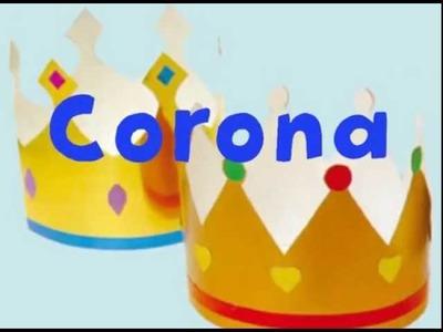 Corona de princesa Sofia (Disney). Disfraces caseros de carnaval.