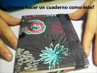 DIY Cuaderno de notas