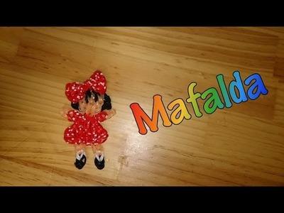 Mafalda de gomitas con telar