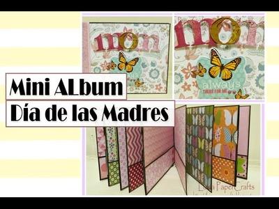 Mini Album sencillo para Mamá