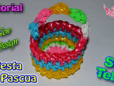 ♥ Tutorial: Cesta de Pascua en 3D (sin telar) ♥