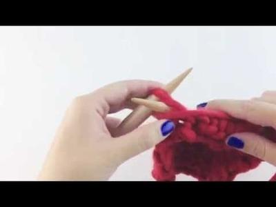 Aprende a tejer vueltas cortas - Cómo tejer