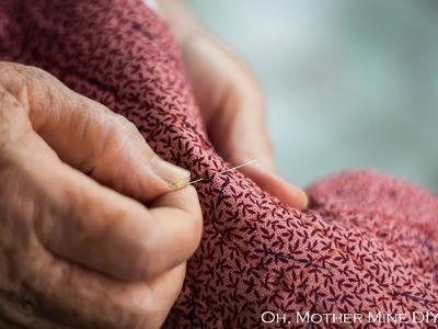 Clase de costura online: Aprender a hilvanar