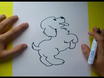Como dibujar un perro paso a paso 4 | How to draw a dog 4