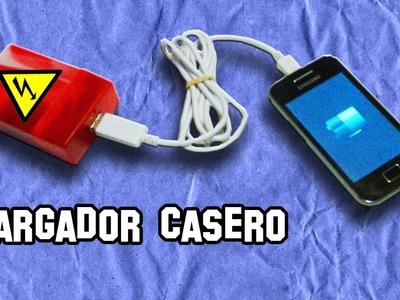 Como Hacer un Cargador USB | How to Make a USB charger