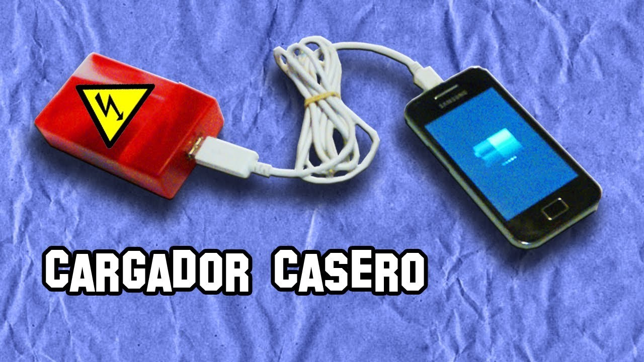 Como Hacer un Cargador USB | How to Make a USB charger