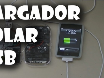 Como hacer un multicargador solar para todo USB Ipod.Android.Iphone.Mp4.GPS.