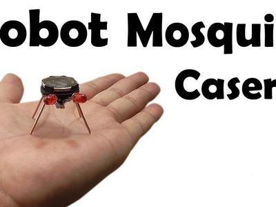 Cómo Hacer un Robot Mosquito Casero - Muy fácil de hacer