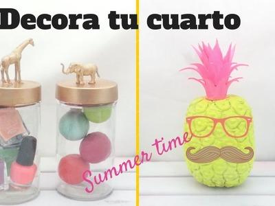 Decora tu cuarto :) | Verano con Fer