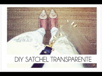 DIY Bolso transparente