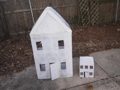 Episodio 557- Cómo hacer una casita de cartón para muñecas