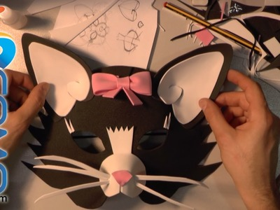 Fabricar una máscara de gata (2.2)