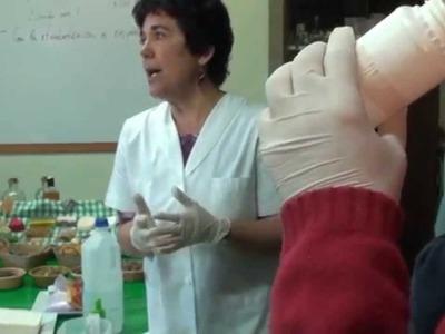 Jabones caseros con aceite reciclado