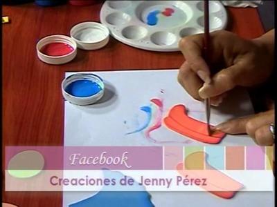 Mimi Luna Creando Un Cotillon en Foamy Yenny Perez Parte 3
