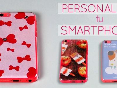Personaliza tu móvil EN 3 MINUTOS || Decoración DIY