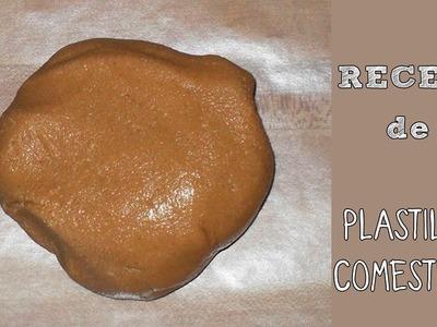 Receta de plastilina comestible