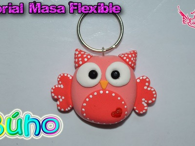 ♥ Tutorial: Búho de Masa Flexible ♥