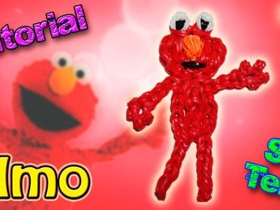 ♥ Tutorial: Elmo de gomitas (sin telar) ♥