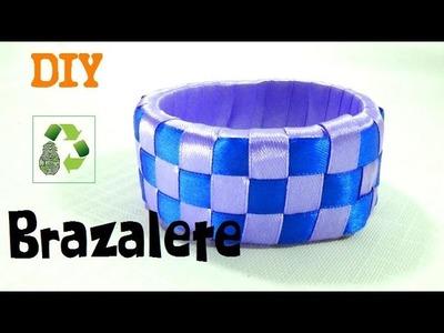 48.  DIY BRAZALETE (RECICLAJE DE BOTE DE PLÁSTICO)