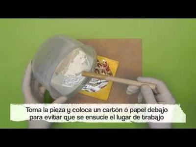 Aplicación de la resina ultrabrillante BORDALIQUIDO