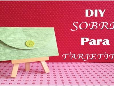 Aprende a hacer un sobre para tus tarjetas de felicitación - Manualidades DIY