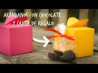 Arándanos con chocolate y cajita de regalo!! (Juno)