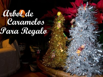 Arbol de Navidad de Caramelos o Chuches para Regalo