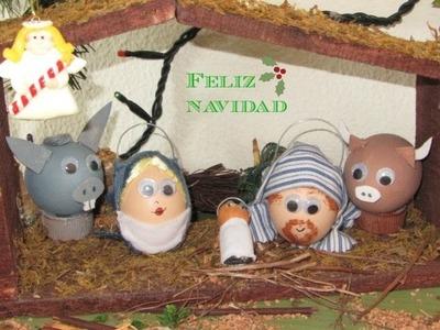 Bélen fácil y económico hecho con huevos