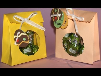 Bolsita Rellena de Chocolates - DIY - Sachet Filled with Chocolates